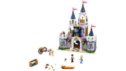 41154 lego disney cinderella's dream castle 2