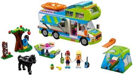 41339 lego friends mia's camper van 2