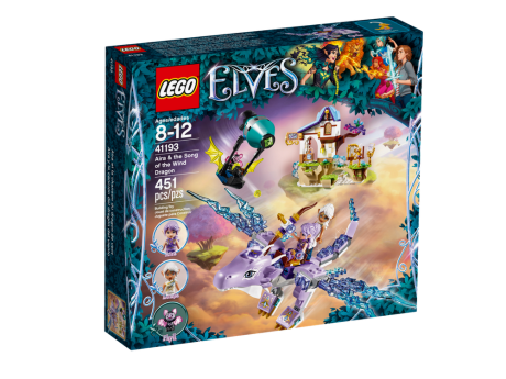 41193 lego elves aira & the song of the wind dragon 1