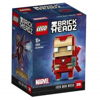 lego brickheadz 41604 iron man mk 50 1
