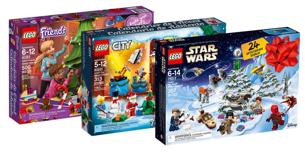 Calendrier Lego Friends 2019.Calendriers De L Avent 2018 En Ligne Sur Le Shop Home