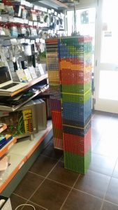 torri Gemelle fatte di Lego