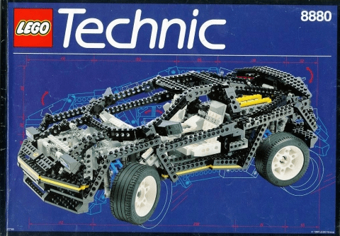 lego technic 8880-1