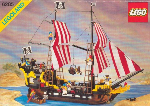 6285-1 Black Seas Barracuda