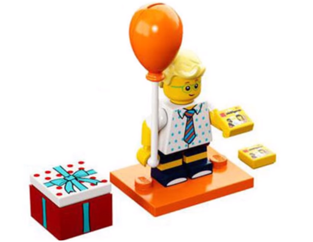 Orang Balloon Lego Fan Boy