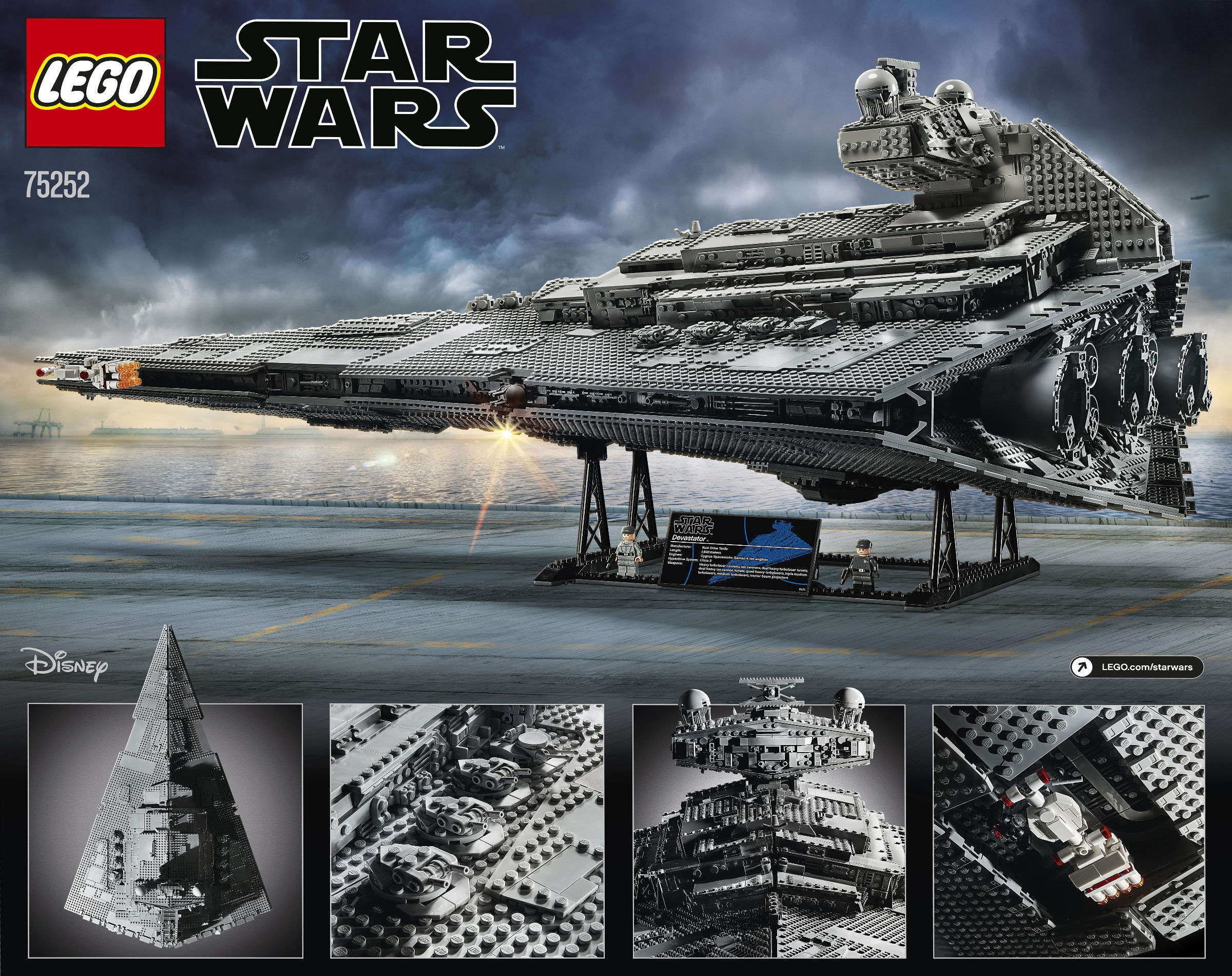 set LEGO 75252 Imperial Star Destroyer Ultimate Collector Series