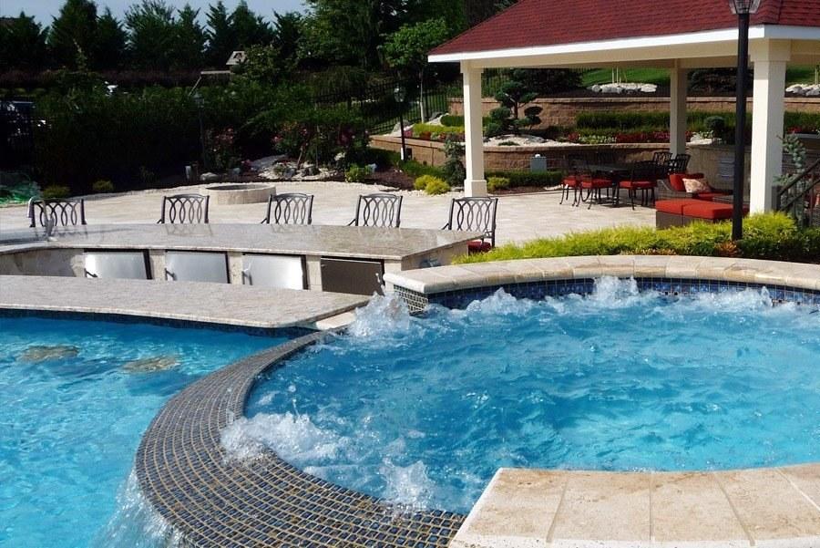 SaltWater Pool Builder NJ