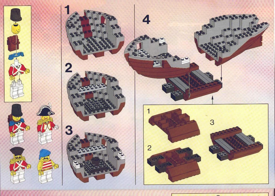 Instructions For 6271 1 Imperial Flagship Bricksargzcom