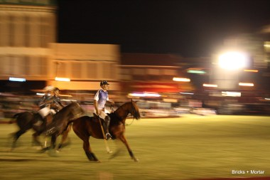 For those unfamiliar with polo, the announcer called the game like it was Polo 101.