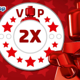 Get Double VIP Points At LEGO Shop@Home