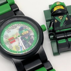 The LEGO NINJAGO Movie Lloyd Buildable Watch Review