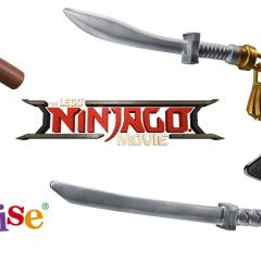 LEGO NINJAGO Movie Life-sized Weapons Review