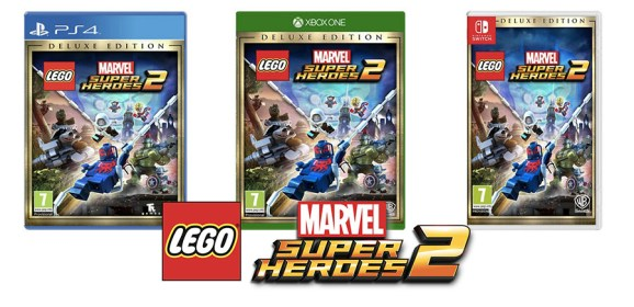 LEGO Marvel 2 'Deluxe' Edition Arrives In The UK