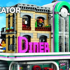 Introducing The New LEGO Creator Modular – Downtown Diner