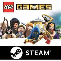 Up To 75% Off LEGO Games On Steam