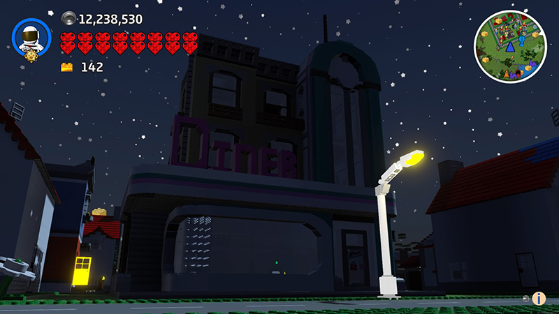 LEGO Downtown Diner Comes To LEGO Worlds | BricksFanz