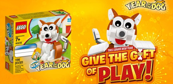 Get A Free LEGO Year Of The Dog Set Now