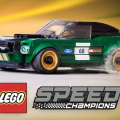 LEGO Speed Champions Ford Mustang Racing Into Stores
