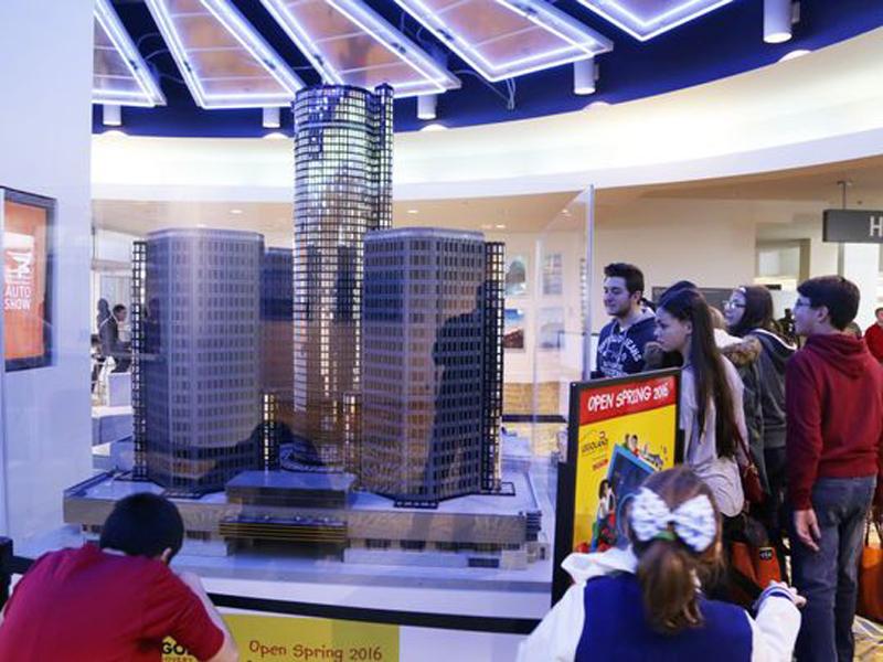 LEGO Renaissance Center MOC