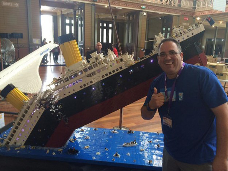 Spectacular 120,000-piece LEGO Titanic MOC Might Break Your Heart