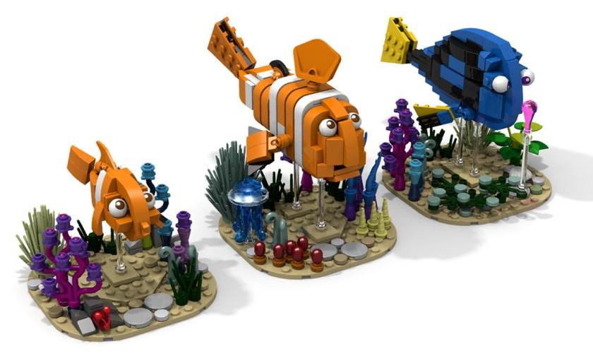 Custom LEGO Finding Dory