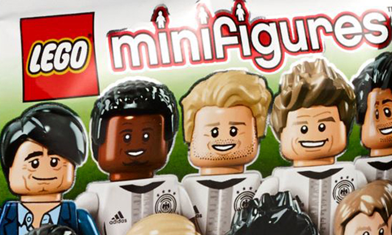 LEGO German National Football Team DFB Collectible Minifigures (71014) Series Officially Revealed