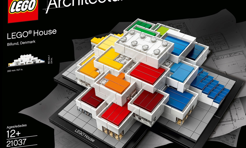 Check Out the Official Images and Building Instructions of the LEGO Architecture LEGO House 21037.