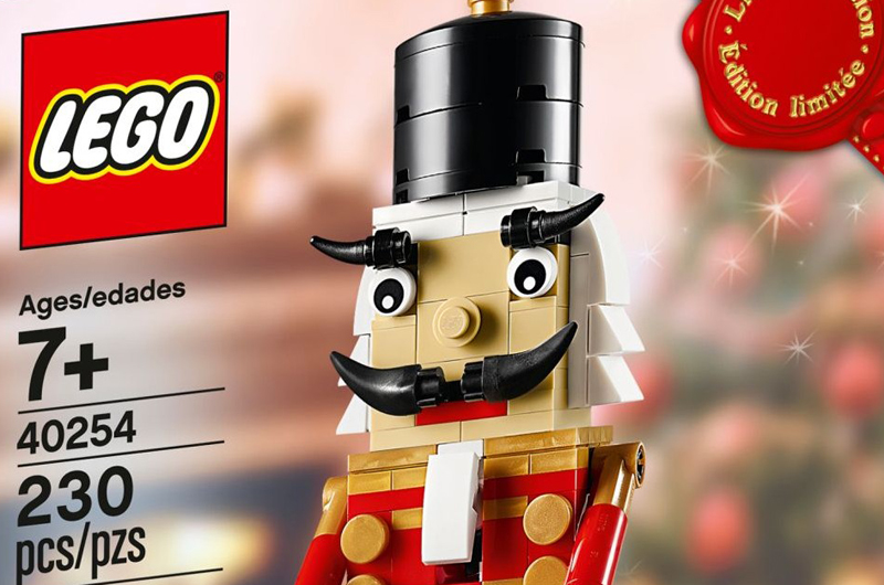 This Year's Limited Edition Christmas Gift With Purchase is the Iconic Nutcracker (40254)
