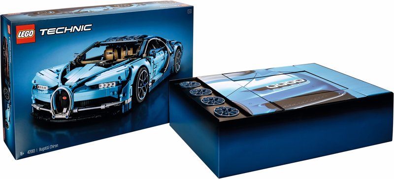 LEGO Technic Chiron Bugatti (42083) Official Images and Product Description Released