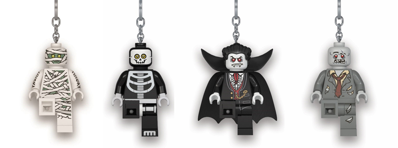 Grab These Spooky LEGO Minifigure Key Lights Just In Time for Halloween
