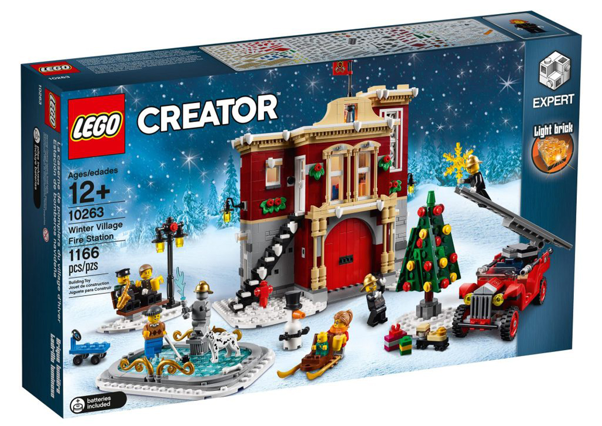 lego creator expert winter village fire station 10263 now up. Black Bedroom Furniture Sets. Home Design Ideas