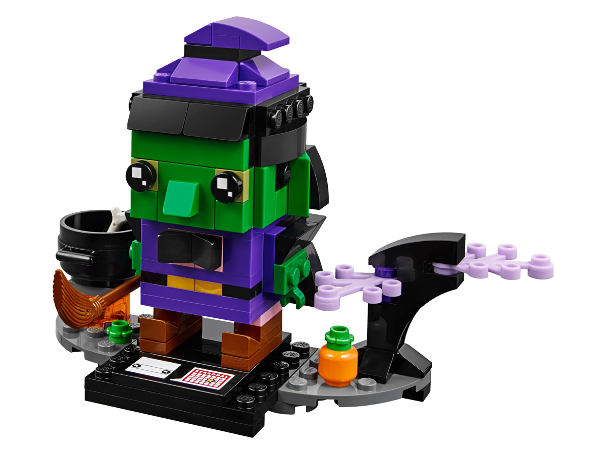 LEGO BrickHeadz Witch (40272) Now Available at LEGO Shop@Home