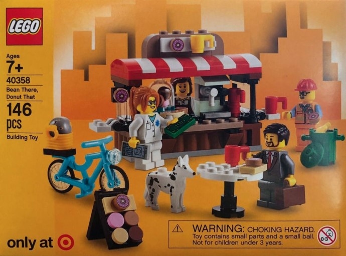 New Target Exclusive LEGO Bean There, Donut That (40358) Spotted
