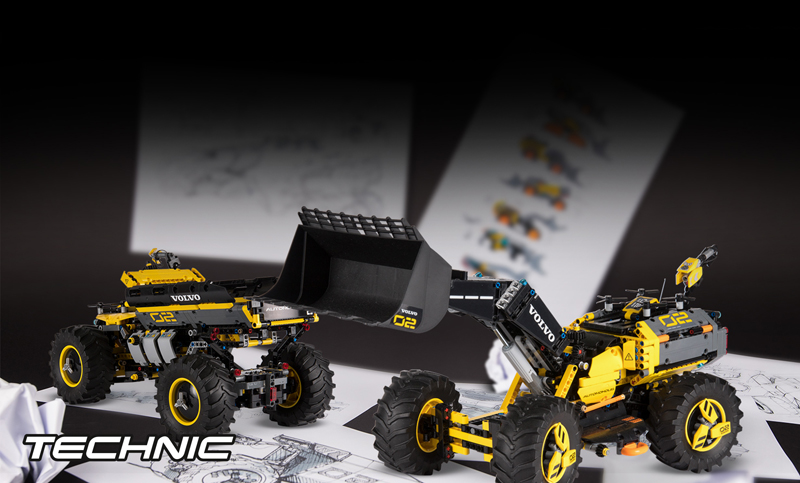 Build the Construction Machines of the Future With LEGO Ideas