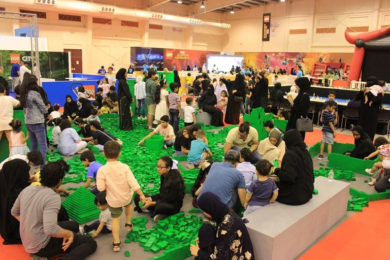 LEGO SHOWS in Bahrain Draws Tens of Thousands of Guests LEGO SHOWS