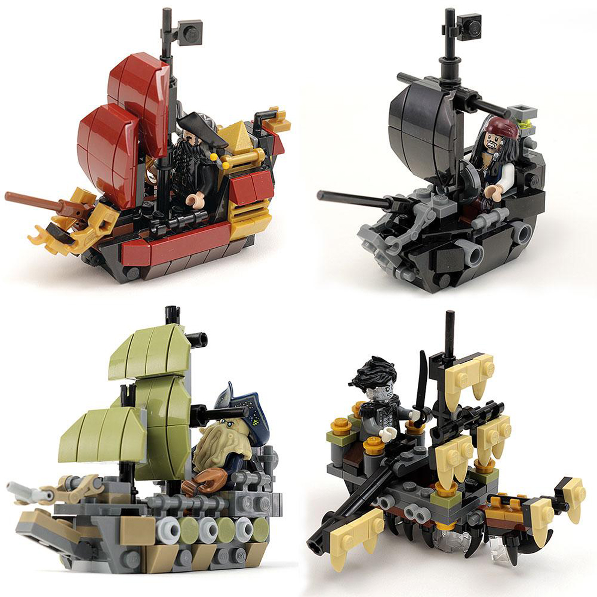 Create Your Armada Of Custom Lego Pirate Ships Only From B3