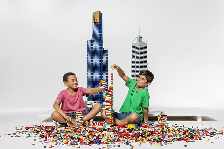 Towers of Tomorrow with LEGO Bricks