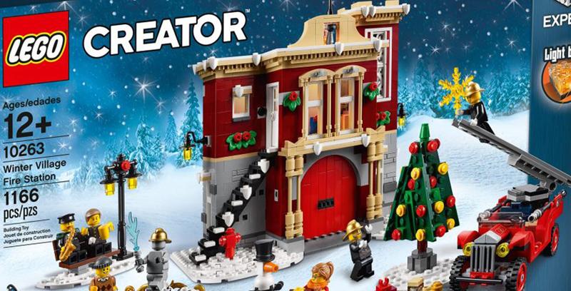 Winter Village Fire Station (10263)