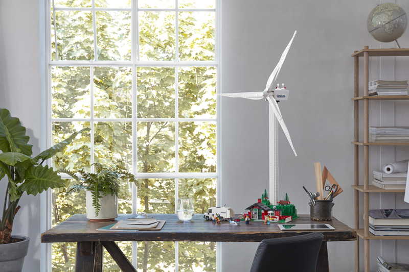 It's a Second Wind for the LEGO Creator Expert Vestas Wind Turbine (10268)