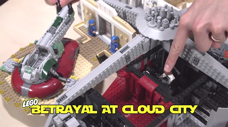 Check Out This Very First Video Review of the LEGO Star Wars Betrayal at Cloud City (75222)