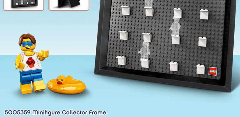 LEGO Minifigure Collector Frame (5005359) Official Image and Details
