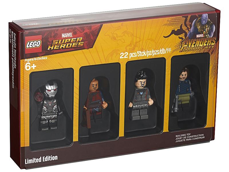 LEGO Bricktober Marvel Minifigures