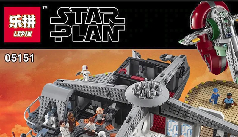 Even After Losing in Court, Lepin Has Just Released Its Fake LEGO Star Wars Betrayal At Cloud City (75222)
