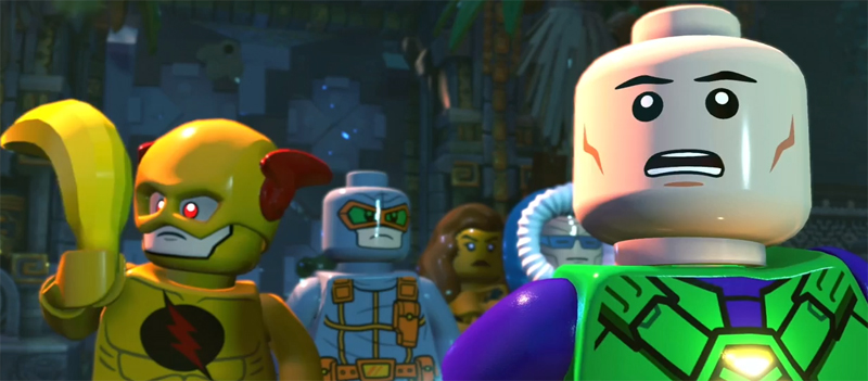 LEGO DC Super-Villains Extended Gameplay Features Gorilla City