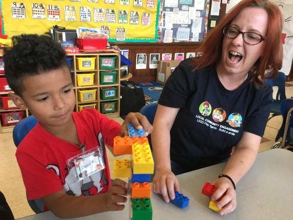LEGO US RepsSpent a Day with Preschool Children