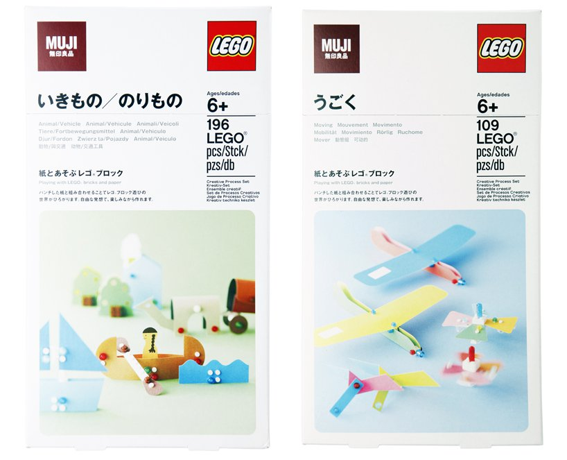 LEGO Forma Series Recalls an Earlier Concept from Japan's LEGO MUJI