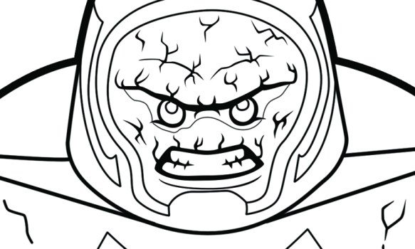 Lego Dc Super Villains Printable Coloring Pages The