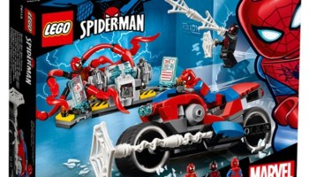lego marvel super heroes spider man into the spider verse sets