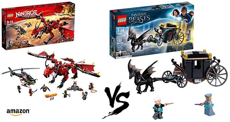 New Amazon Discount Sales for LEGO Ninjago and Wizarding World: Fantastic Beasts