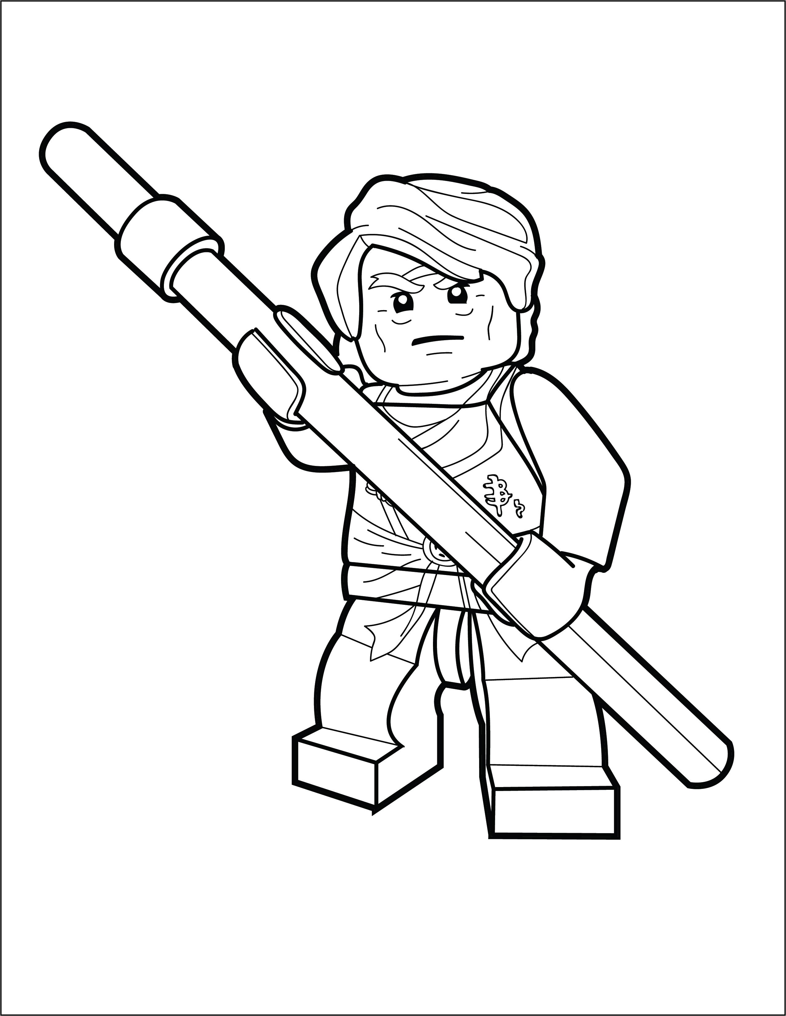 - LEGO Ninjago Coloring Page - Sensei Garmadon - The Brick Show